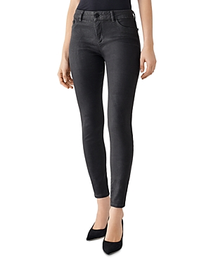 DL1961 Florence Skinny Ankle Jeans in Pewter-Women