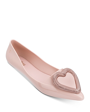 Melissa Women's Pointy Heart Flats