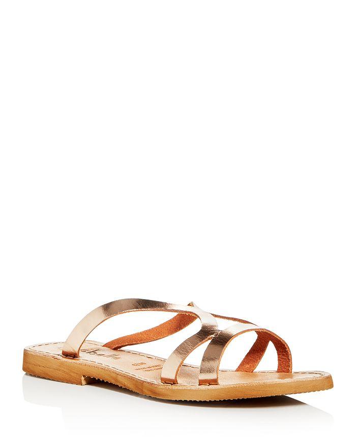 Cocobelle - Women's Arcos Cutout Slide Sandals