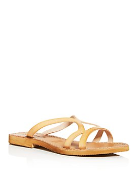 Cocobelle - Women's Arcos Cutout Slide Sandals