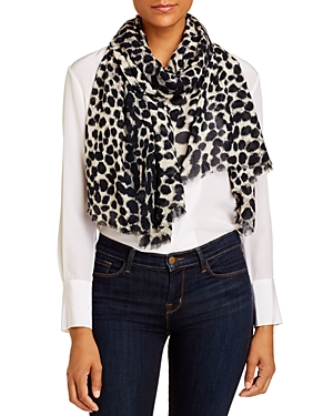 Echo Accessories CHEETAH PRINT OBLONG SCARF