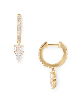 Nadri - Eliza Huggie Hoop Earrings