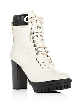 VINCE CAMUTO - Women's Ermania High-Heel Platform Booties