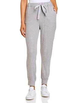 1.STATE - Waffle-Knit Jogger Pants