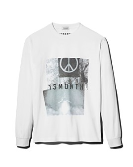 13MONTH by W CONCEPT - Peace Long-Sleeve Tee