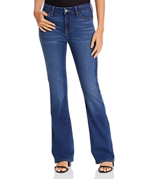 7 For All Mankind - Slim Bootcut Jeans in Classic Medium Blue