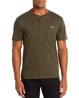 Lacoste - Regular-Fit Pima Cotton Henley