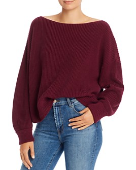 FRENCH CONNECTION - Millie Mozart Knits Cotton Boat Neck Sweater