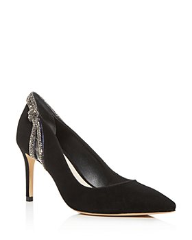 Sophia Webster - Women's Giovanna Crystal-Embellished Pointed-Toe Pumps