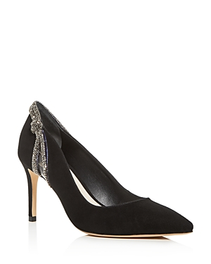 Sophia Webster Pumps WOMEN'S GIOVANNA CRYSTAL-EMBELLISHED POINTED-TOE PUMPS