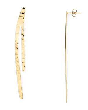 Argento Vivo Linear Earrings in 18K Gold-Plated Sterling Silver-Jewelry & Accessories