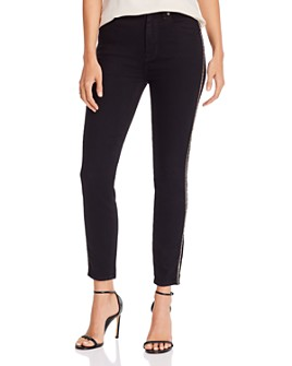 7 For All Mankind - Ankle Skinny Jeans in Luxe Vintage Nightfall
