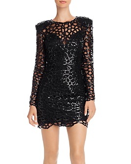 BRONX AND BANCO - Spider Sequin Mini Dress