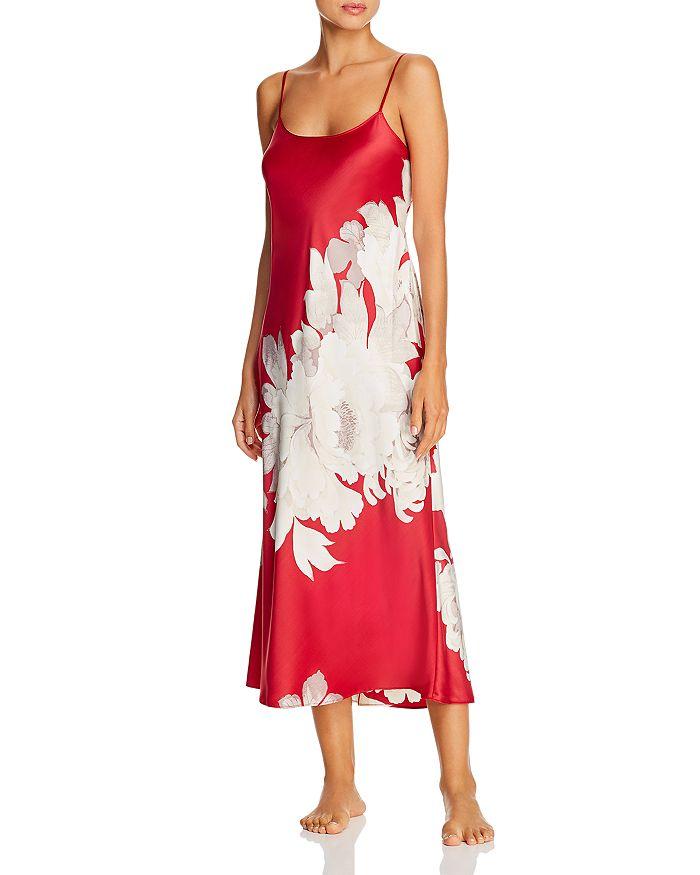 Natori - Opulent Printed Satin Gown