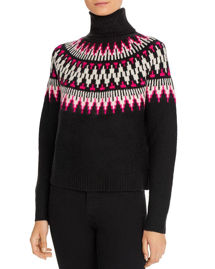 Line & Dot - Kels Fair Isle Turtleneck Sweater - 100% Exclusive