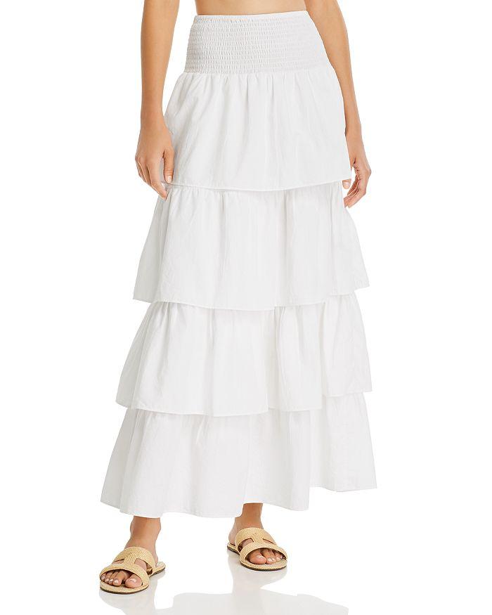 WeWoreWhat - Paloma Tiered Ruffle Cotton Skirt
