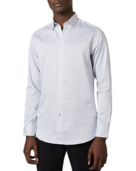Ted Baker - Merci Geo Print Slim Fit Button-Down Shirt