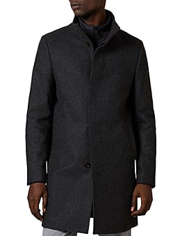 Ted Baker - Margate Funnel Neck Coat