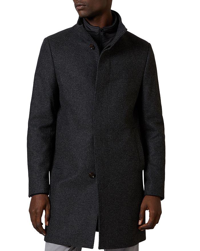 Ted Baker - Margate Funnel Neck Coat