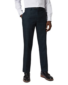 Ted Baker - Armtro Check-Print Slim Fit Pants