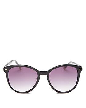 Le Specs Luxe - Women's LQQKS Round Sunglasses, 54mm