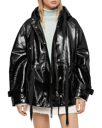 ALLSAINTS - Kelsie Nya Faux Leather Jacket