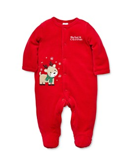 Little Me - Boys' Reindeer Footie - Baby