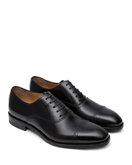 Paul Stuart - Men's Hartford Cap-Toe Leather Oxfords