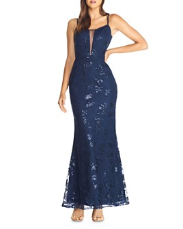 Dress the Population - Marie Mermaid Gown