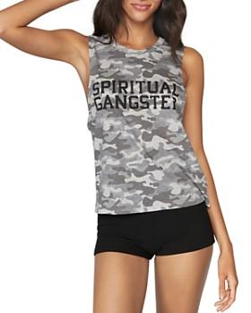 Spiritual Gangster - Camo Logo Tank