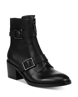 Donald Pliner - Women's Dustin Zip-Up Booties