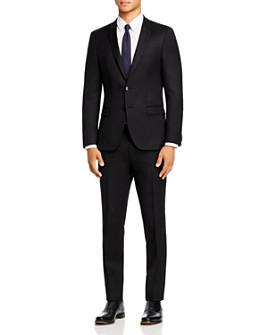 HUGO - Hesten Flannel Extra Slim Fit Suit Separates