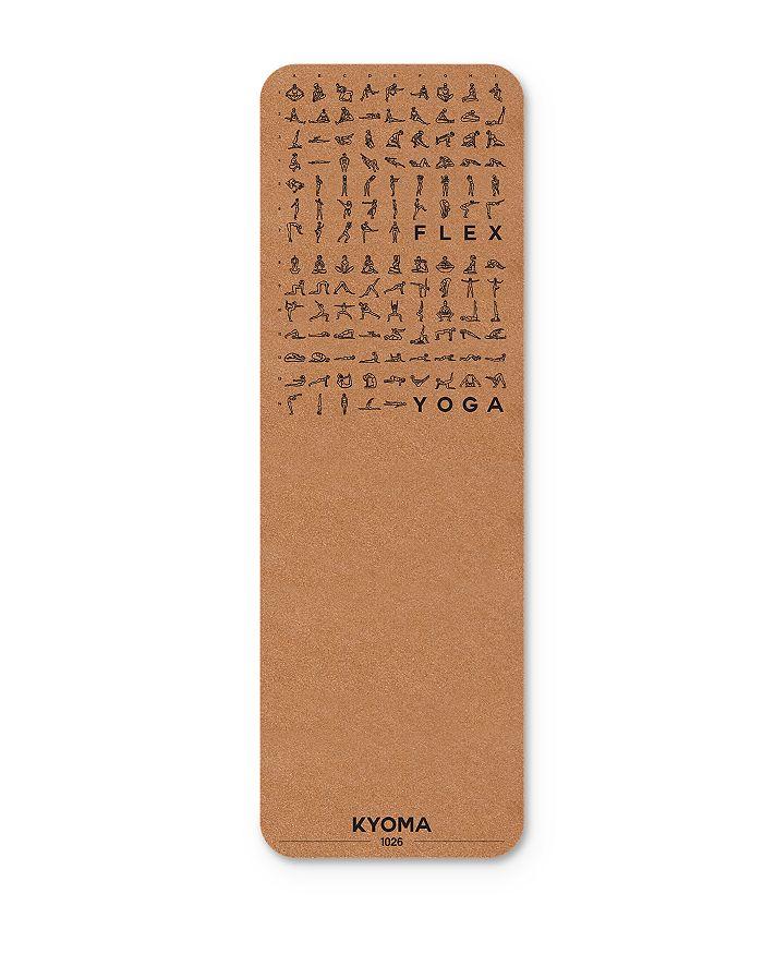 KYOMA - Instructional Cork Yoga Mat
