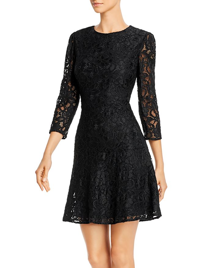 Sam Edelman - Lace Fit-and-Flare Dress