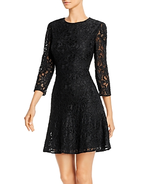 Sam Edelman Lace Fit-and-Flare Dress