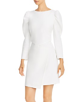 Shoshanna - Upton Puff Sleeve Dress