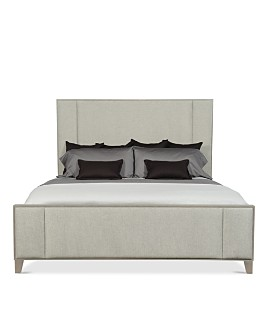 Bernhardt - Linea Upholstered & Paneled King Bed