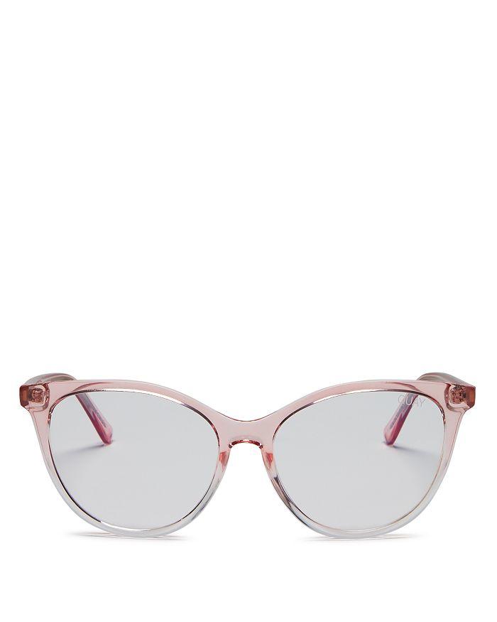 Quay - Women's  x Chrissy Teigen All Nighter Cat Eye Blue Light Glasses, 50mm