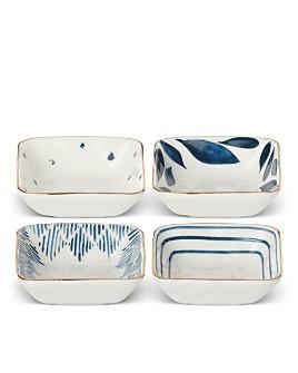 Lenox - Blue Bay Square Stacking Dip Bowls, Set of 4
