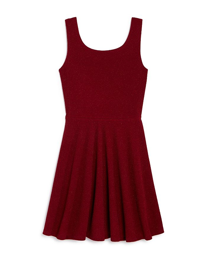 Sally Miller - Girls' Ruby Sparkle Crisscross Dress - Big Kid