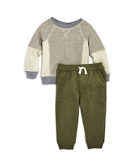 Splendid - Boys' Waffle-Knit Tee & Jogger Pants Set - Baby