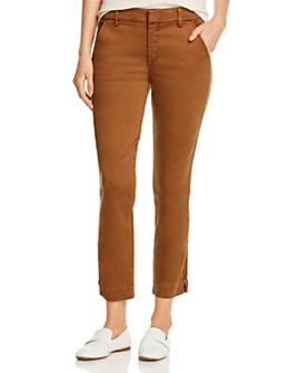 Level 99 - Brittany Ankle-Zip Cropped Pants