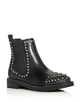KURT GEIGER LONDON - Women's Raven Studded Chelsea Boots
