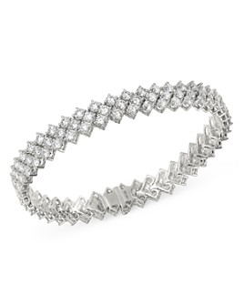 Bloomingdale's - Diamond Tennis Bracelet in 14K White Gold, 10.0 ct. t.w. - 100% Exclusive