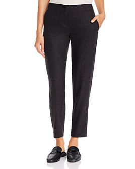 Eileen Fisher - Wool Tapered Pants