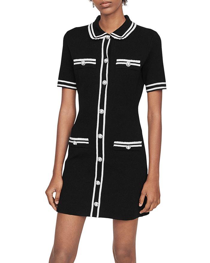 Maje - Ravela Tweed Mini Dress