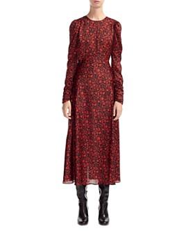 Maje - Ravie Floral Midi Dress