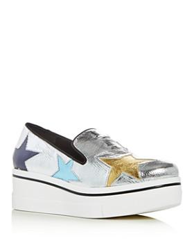 Stella McCartney - Women's Star Platform Loafers