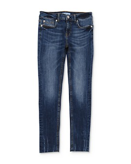 7 For All Mankind - Girls' Faded Skinny Stretch Jeans - Big Kid