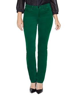 NYDJ - Sheri Velvet Slim Jeans in Mountain Pine